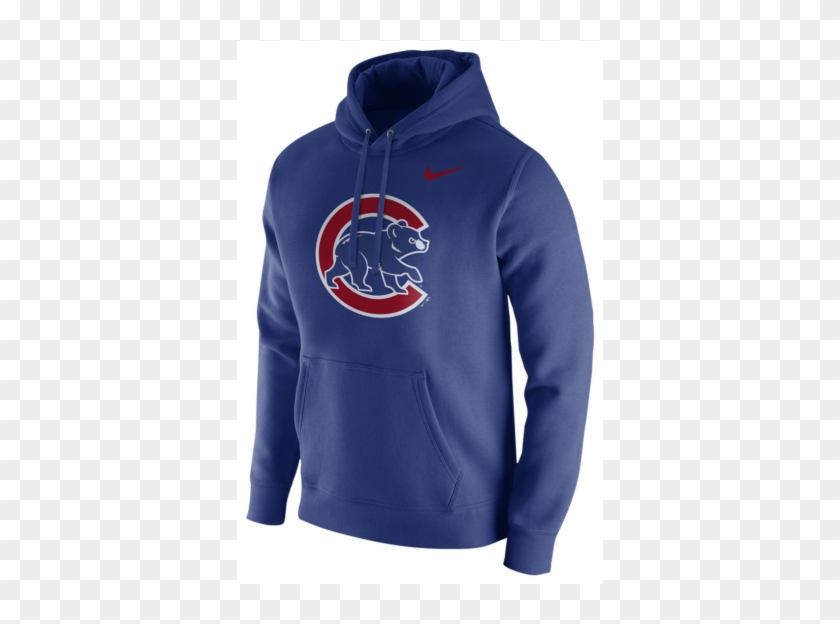 brand new 6edfd bccc1 Nike Mlb Chicago Cubs Club Fleece Logo Pullover Hoodie ...
