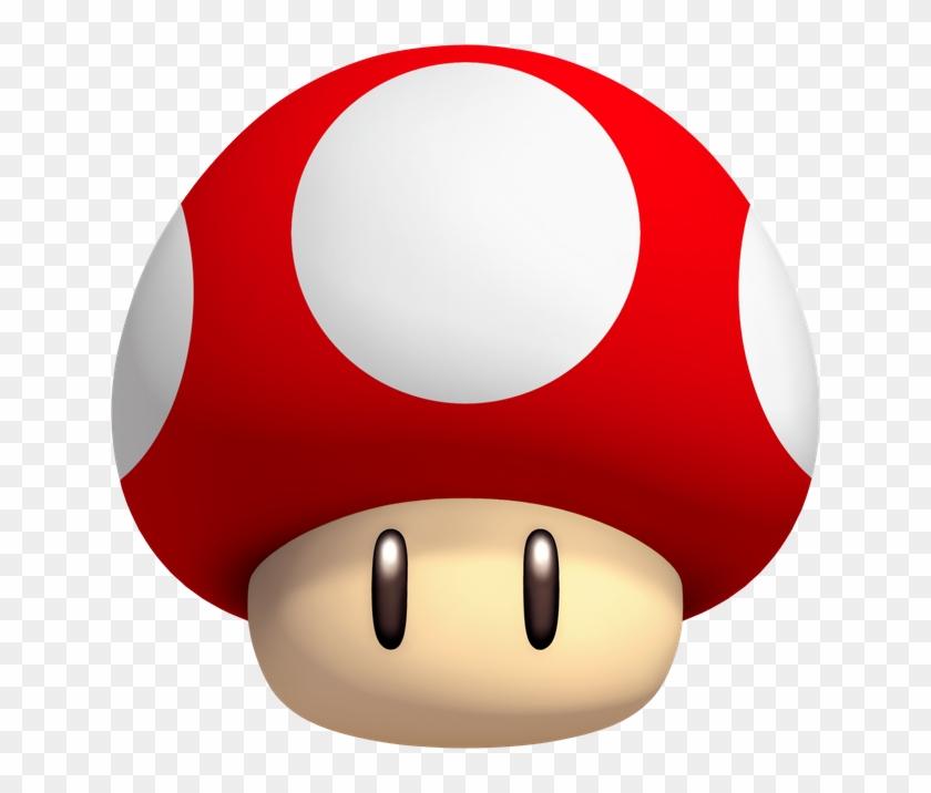 Super Mario Mushroom Hd Png Download 640x636 4208369 Pngfind