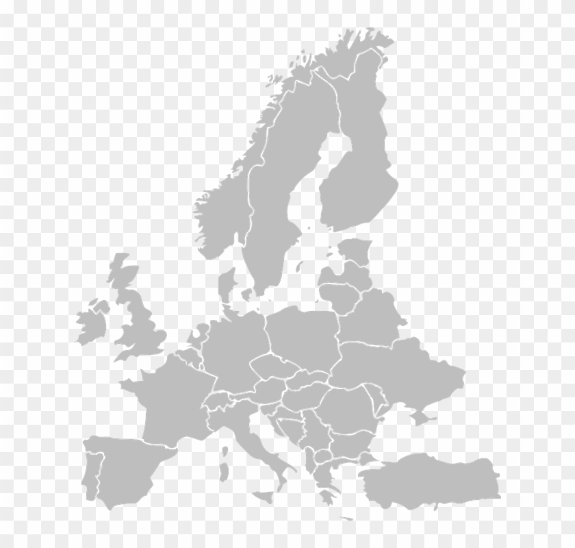 Cartina Europa.Mappa Europa Png Europe Map Black Png Transparent Png 624x720 4211018 Pngfind