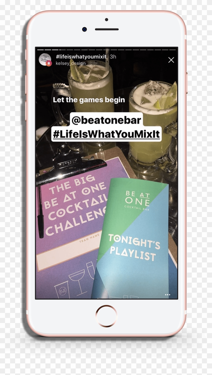 Instagram Stories From Influencers At The Be At One - Iphone