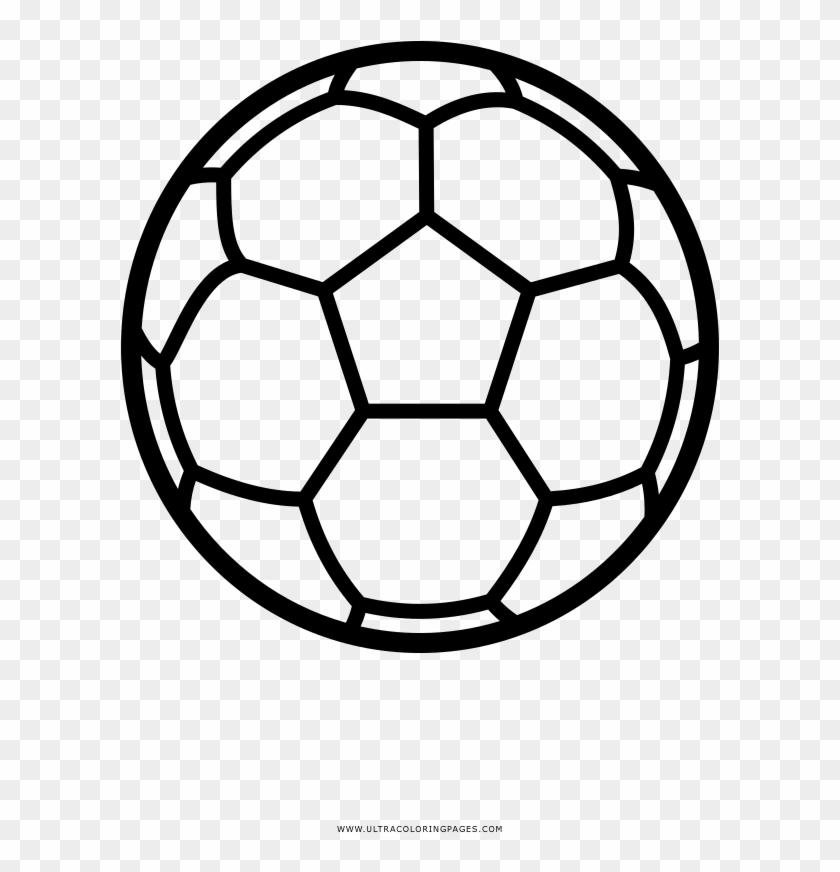 Bola De Futebol Desenho Para Colorir Soccer Ball Lines Png