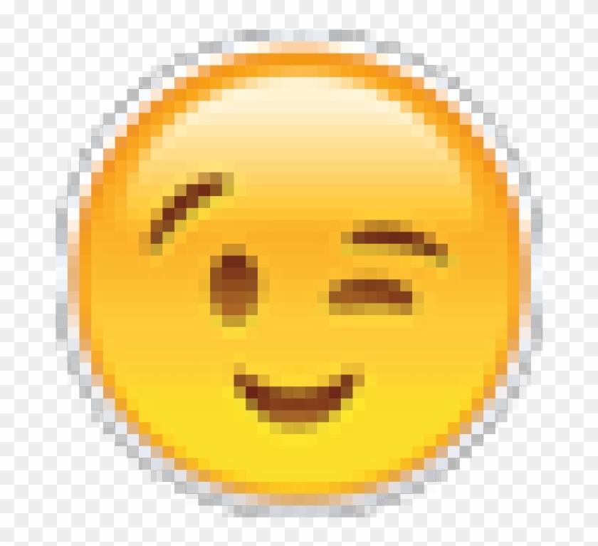 Blink-768x768 - Transparent Background Thinking Emoji, HD