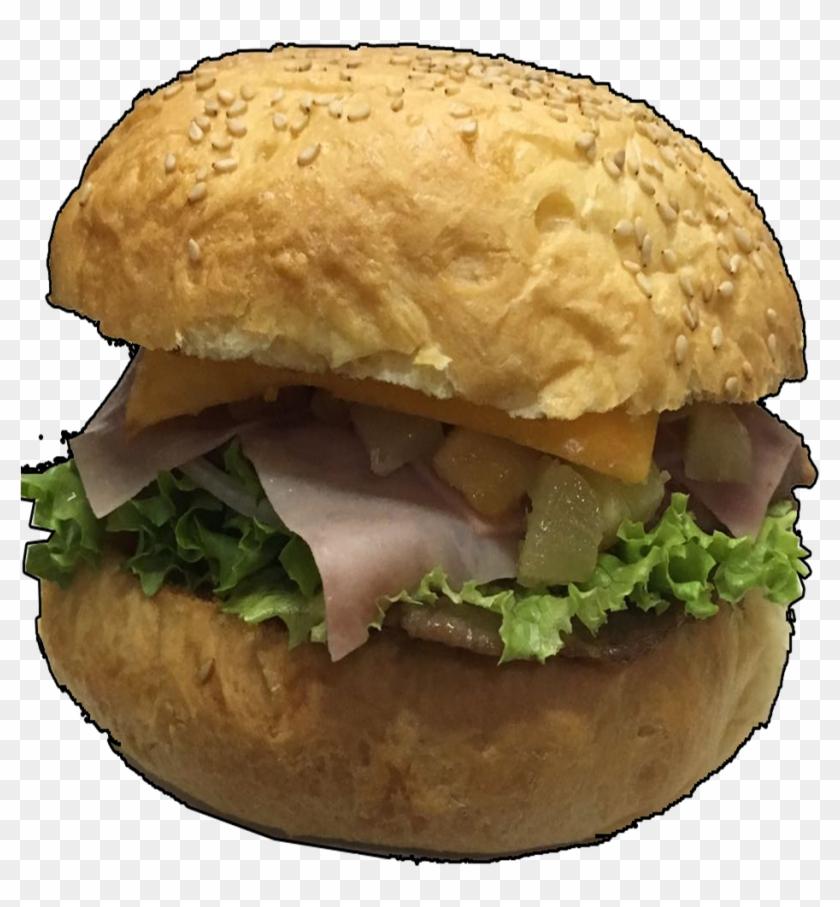 Hamburguesa Sencilla - Patty, HD Png Download - 960x1070