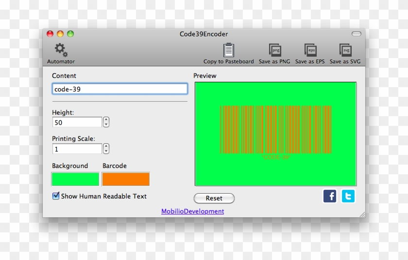 Changing The Color Of Code 39 Barcode - Data Matrix