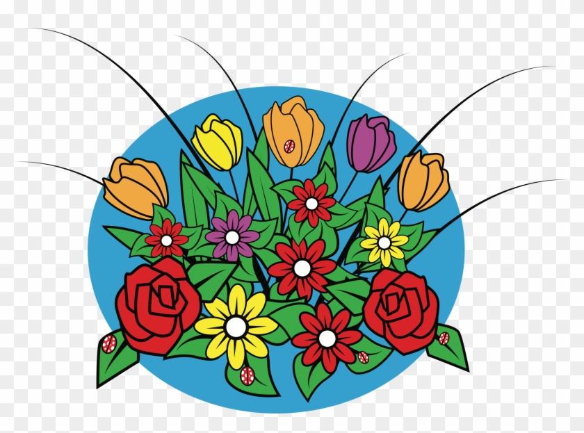 Big Image Bunga Kartun Tidak Berwarna Hd Png Download 2383x1655 430408 Pngfind