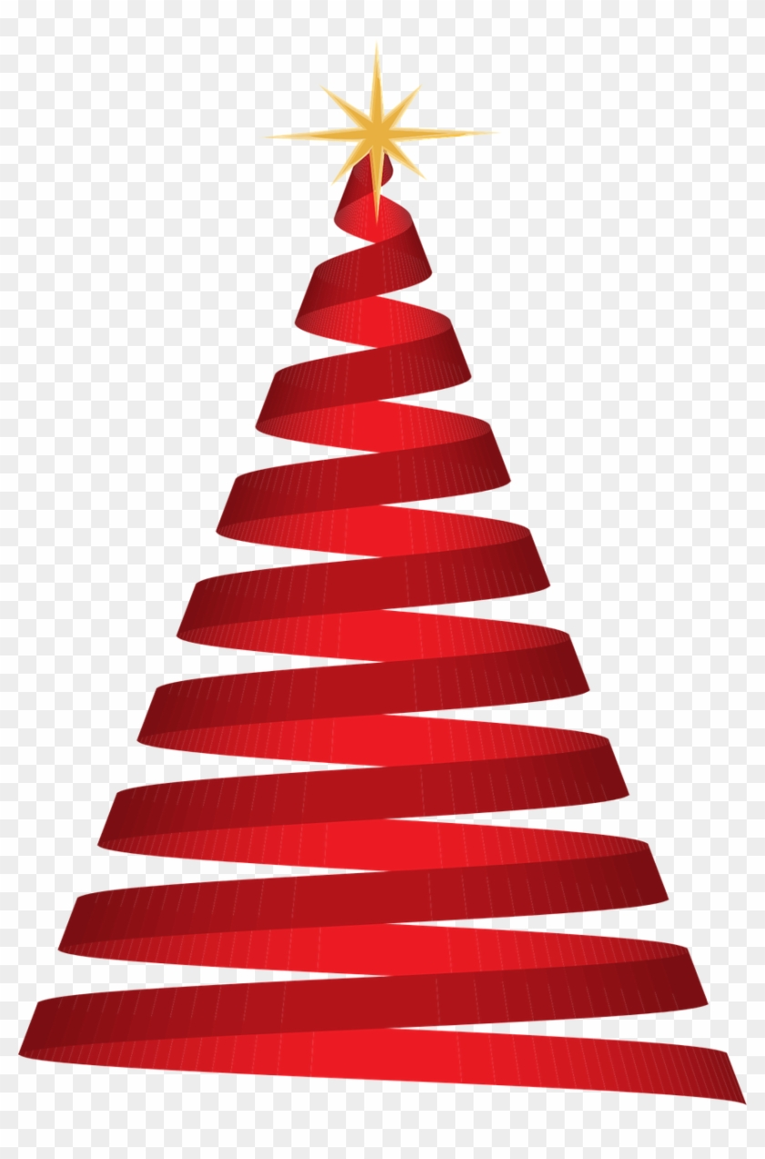 Red Christmas Tree Transparent Hd Png Download 500x733 435481 Pngfind