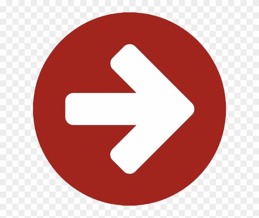 Flecha Apuntando Hacia La Derecha En Un Circulo 318 - Youtube Icon Png  Round, Transparent Png - 626x626(#436594) - PngFind