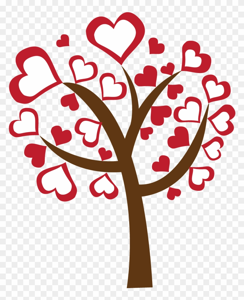 Free Valentine Clip Art Images Valentines Day Tree Clipart Hd Png Download 873x975 436725 Pngfind