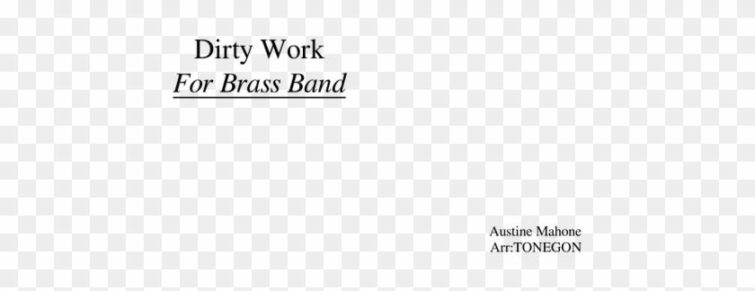 Austin Mahone Dirty Work Sheet Music For Flute, Clarinet