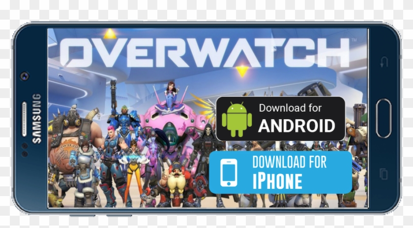 Overwatch Android/ios - All 29 Overwatch Characters, HD Png Download