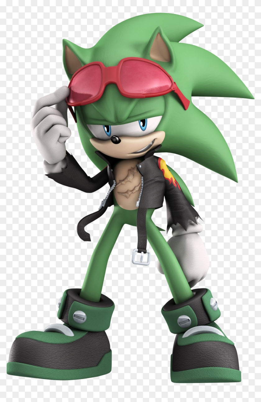 Sonic Generations Sonic Boom - Scourge The Hedgehog, HD Png