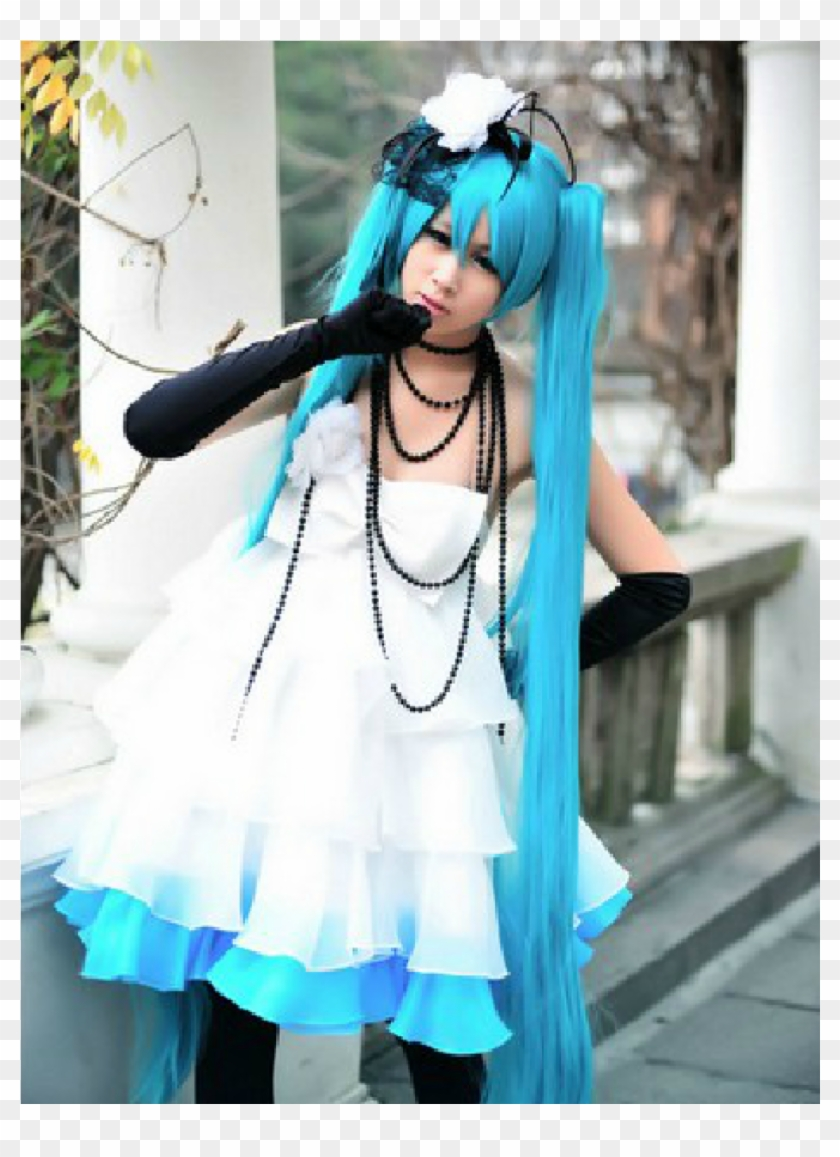 Vocaloid Miku Dress Japan Anime Cosplay Costume Cosplay Hd Png