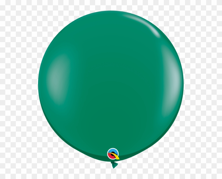 Emerald Green Giant Balloon Jewel 90cm Round - Circle, HD