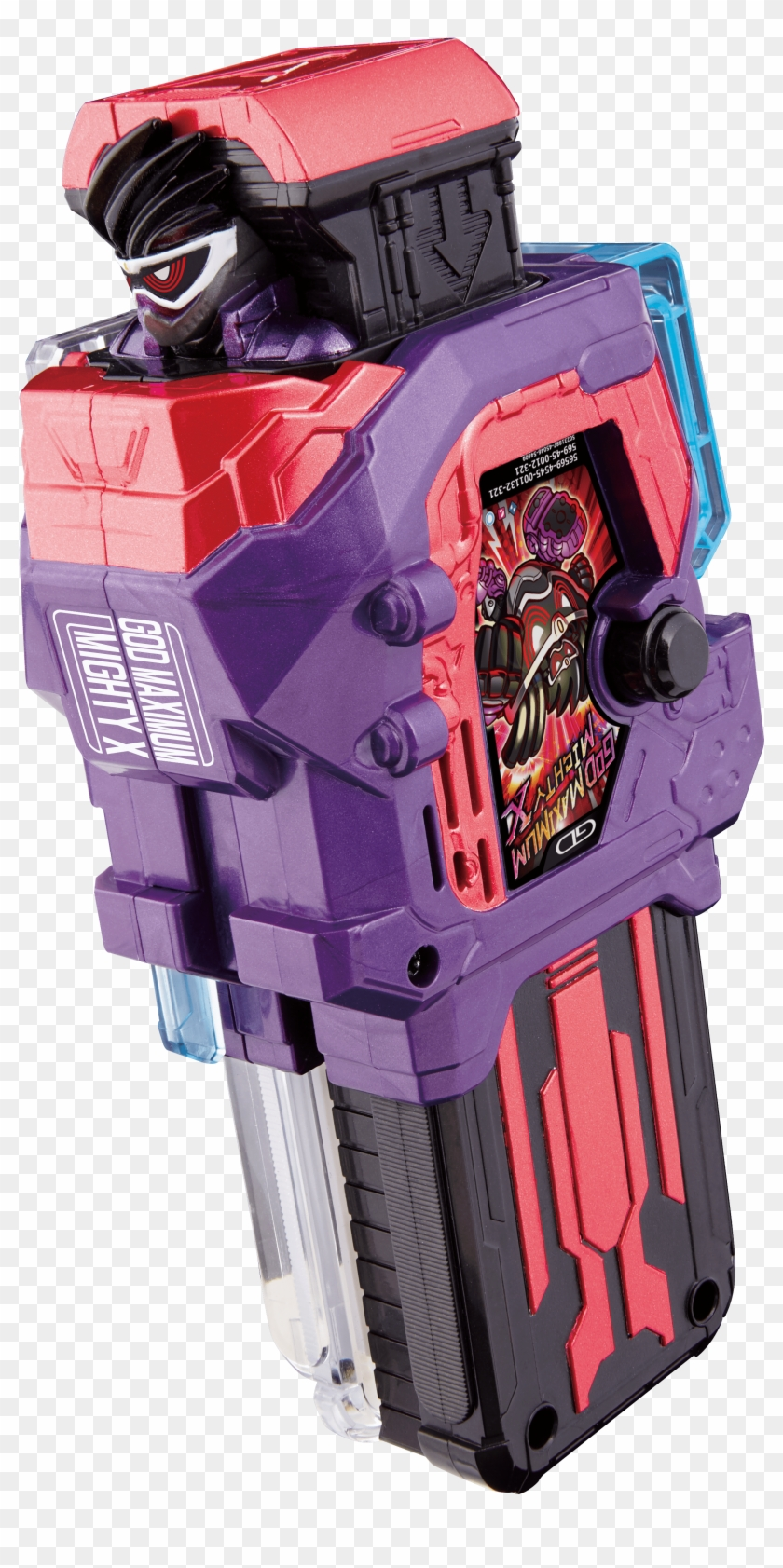 Kamen Rider Ex Aid Trilogy God Maximum Mighty X Gashat Hd Png Download 2883x4951 4373549 Pngfind