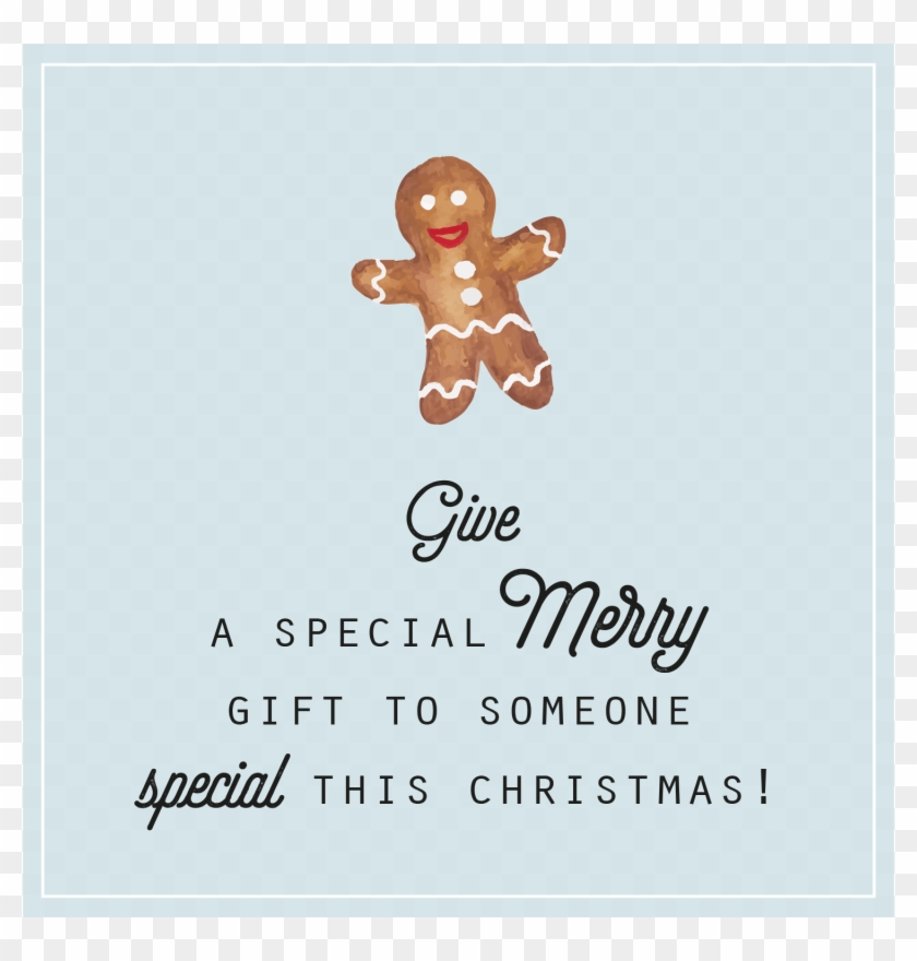 Gift Tags Christmas Free Printable Blogger Entrepreneur Gingerbread Hd Png Download 1500x1500 4393947 Pngfind