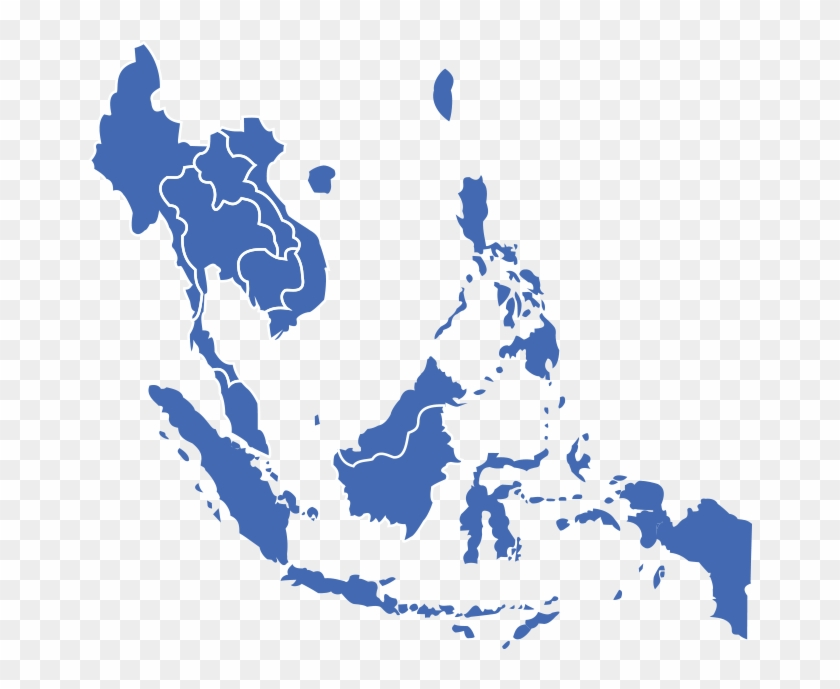 Manila Office - Southeast Asia Map Png, Transparent Png