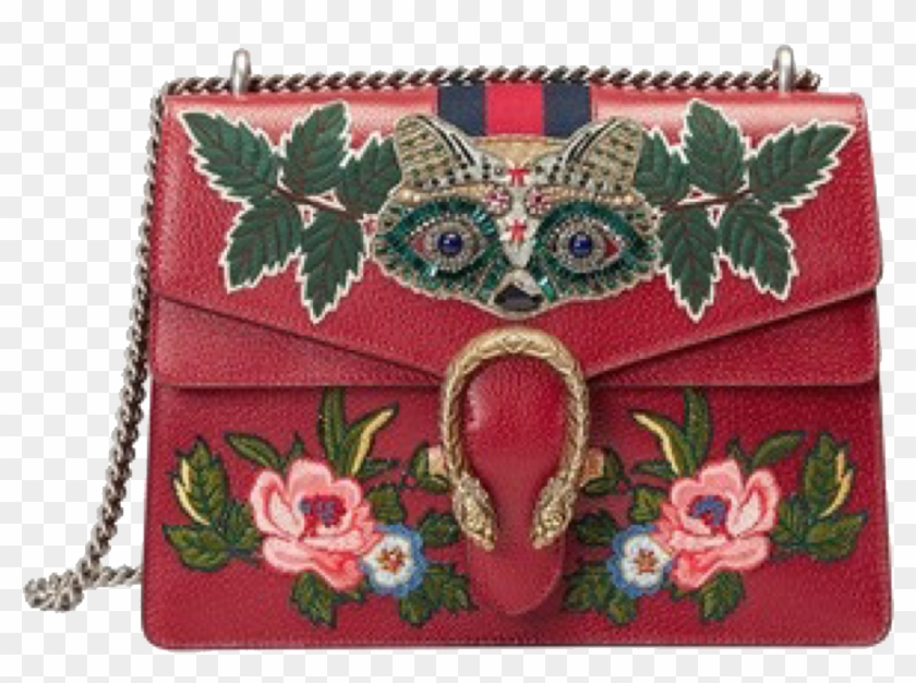 736489f24 Moodboard Bag Gucci Flower Gold Red Png Sticker Freetoe - Dionysus Bag Gucci  Red, Transparent