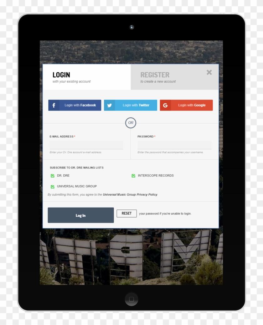 Deezer - Napster - Soundcloud - Tumblr - Mobile Device, HD Png