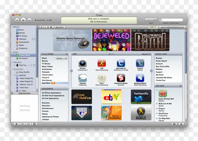 Apple App Store In Itunes - Itunes, HD Png Download - 1224x814