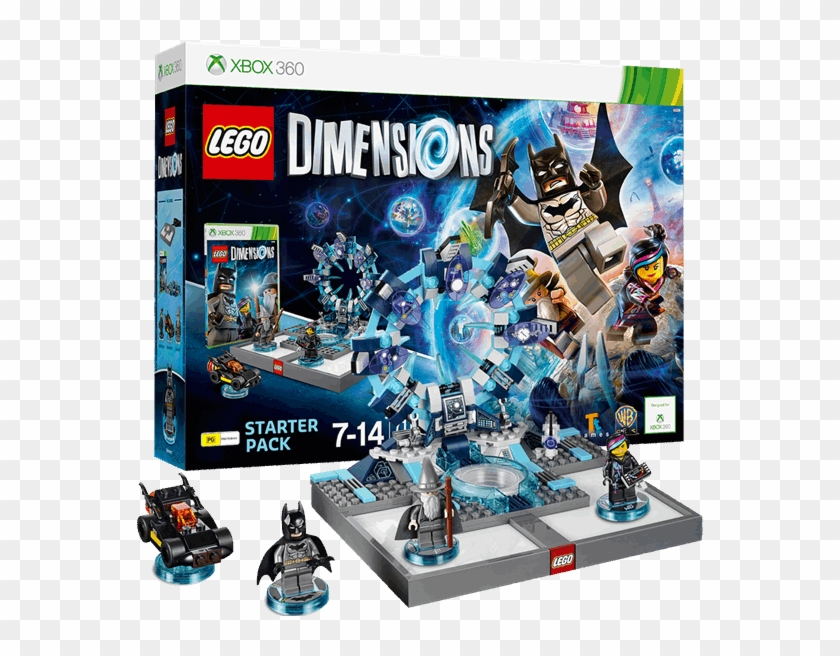 Lego Dimensions Starter Pack Lego Dimensions Xbox 360 Starter Pack Hd Png Download 600x600 4421689 Pngfind