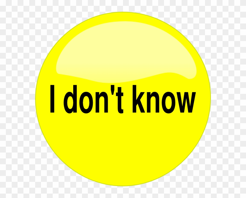 How To Set Use Don T Know Button Svg Vector - New Energy