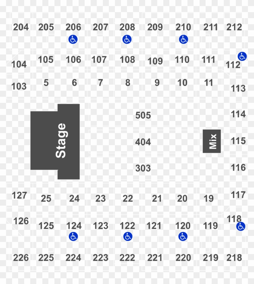 Event Info Mohegan Sun Arena Seating Chart Hd Png Download