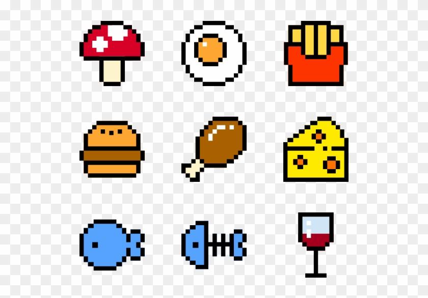Trends For Pixel Art Food @KoolGadgetz.com