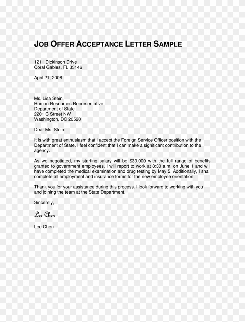 Letter To Accept Job from www.pngfind.com
