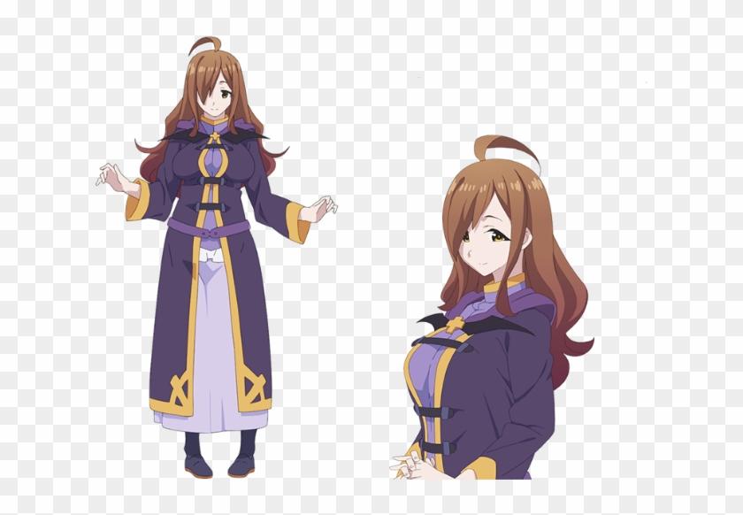 Quotes From Wiz Kono Subarashii Sekai Ni Shukufuku Wo Character Hd Png Download 800x641 4485483 Pngfind