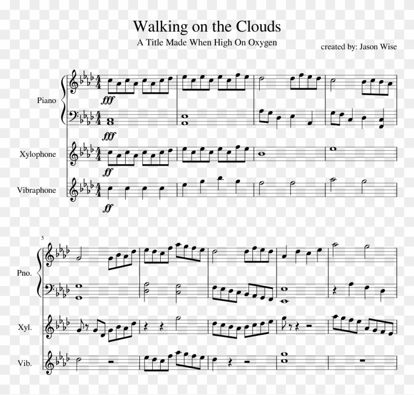 Print - Father John Misty Piano Sheet Music, HD Png Download