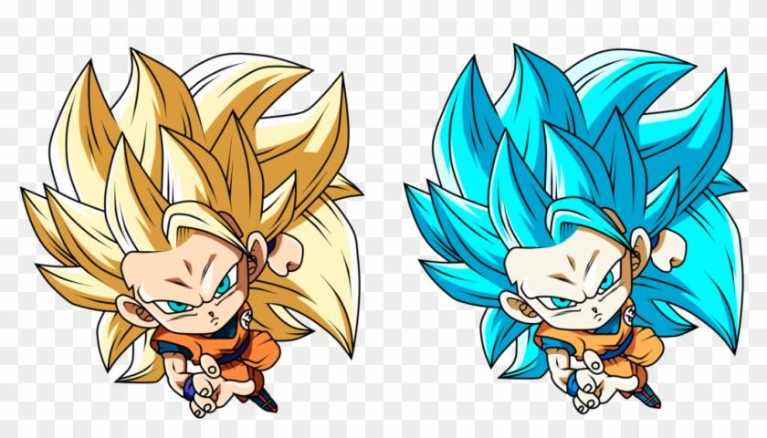 Goku Ssj Blue Universe Mission Render Hd Png Download