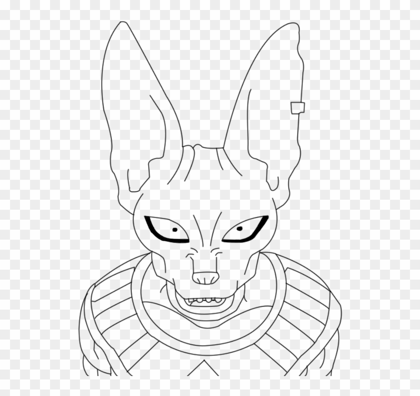 Goku Fase 2 Para Colorear Sketch Hd Png Download