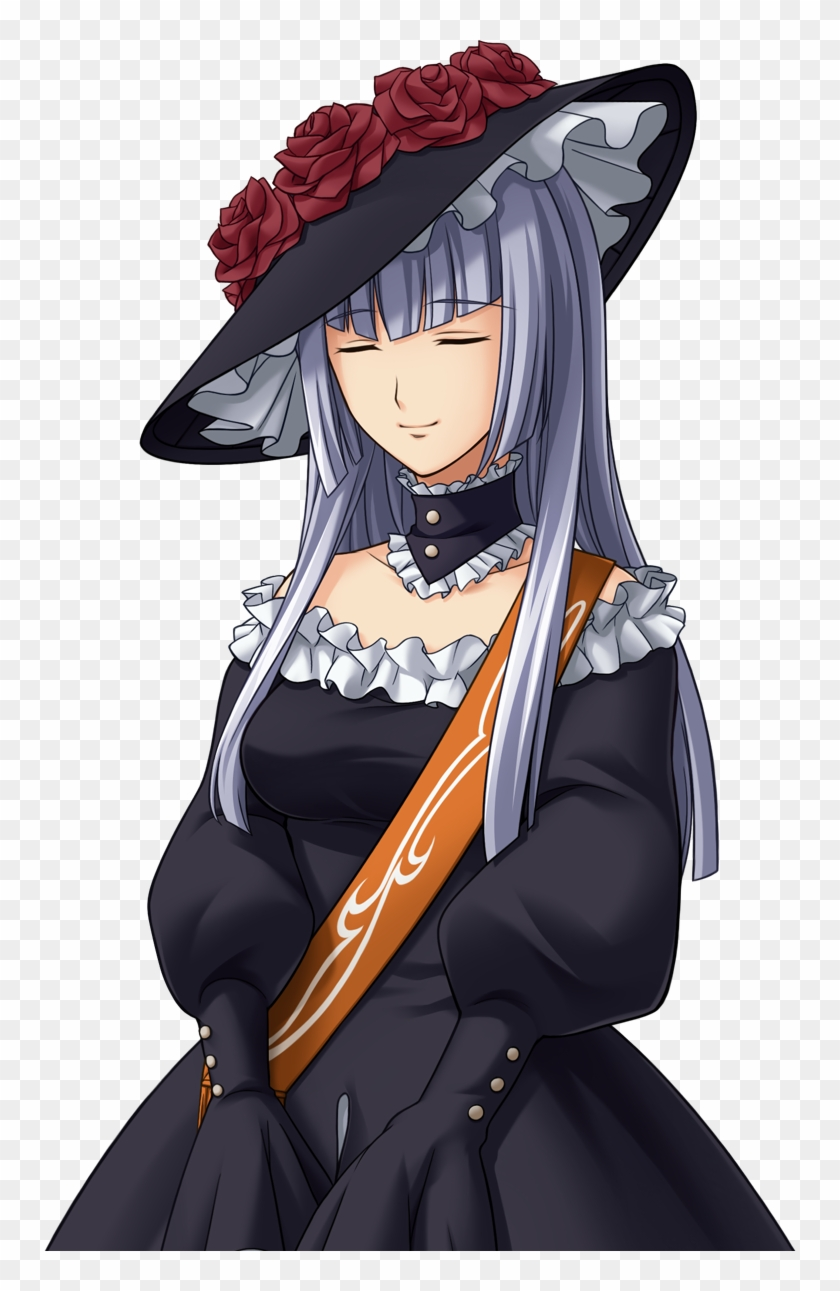 Seufzte Ihre Mutter Virgilia Umineko No Naku Koro Ni Virgilia Hd Png Download 752x1211 4489710 Pngfind