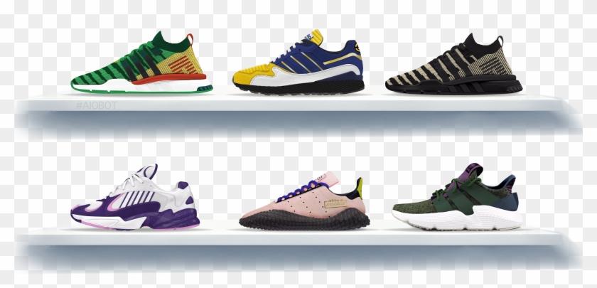 Dragon Ball Z Adidas Shoes, HD Png