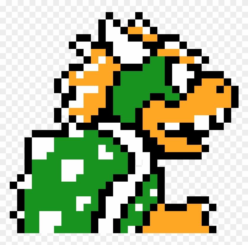 Bowser Super Mario Bros 3 Bowser Sprite Hd Png Download