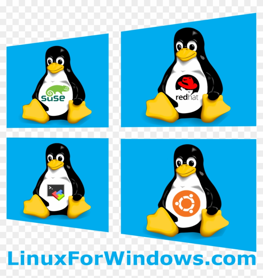 Linux For Windows - Linux, HD Png Download - 1024x1024