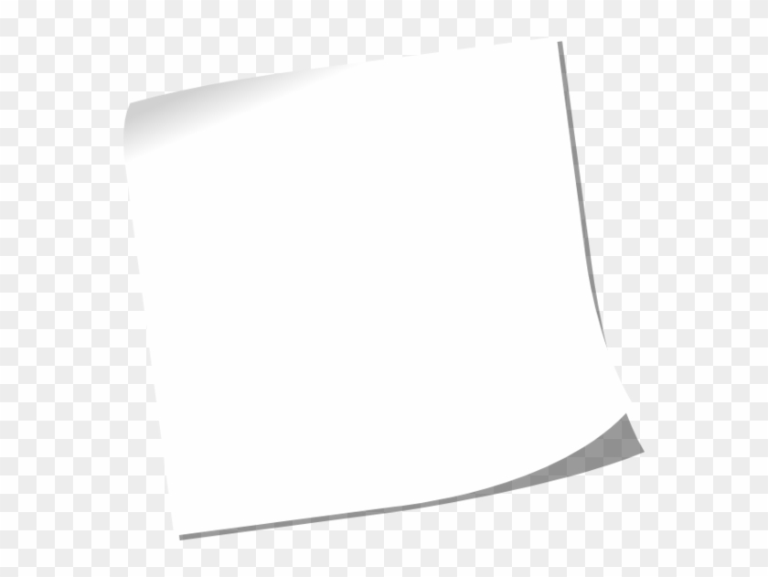 Post It Clipart Vector White Post It Vector Hd Png Download 570x551 456718 Pngfind