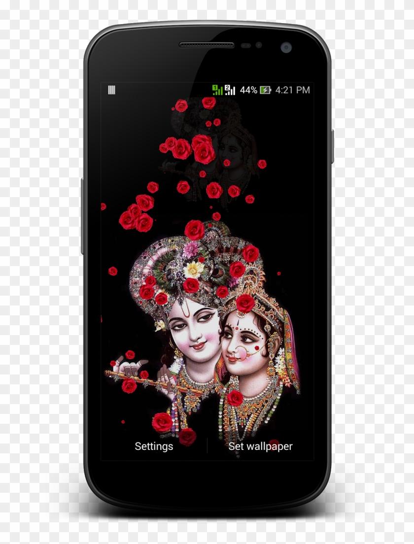Live Krishna Wallpaper Download - Hd Wallpaper Radha Krishna