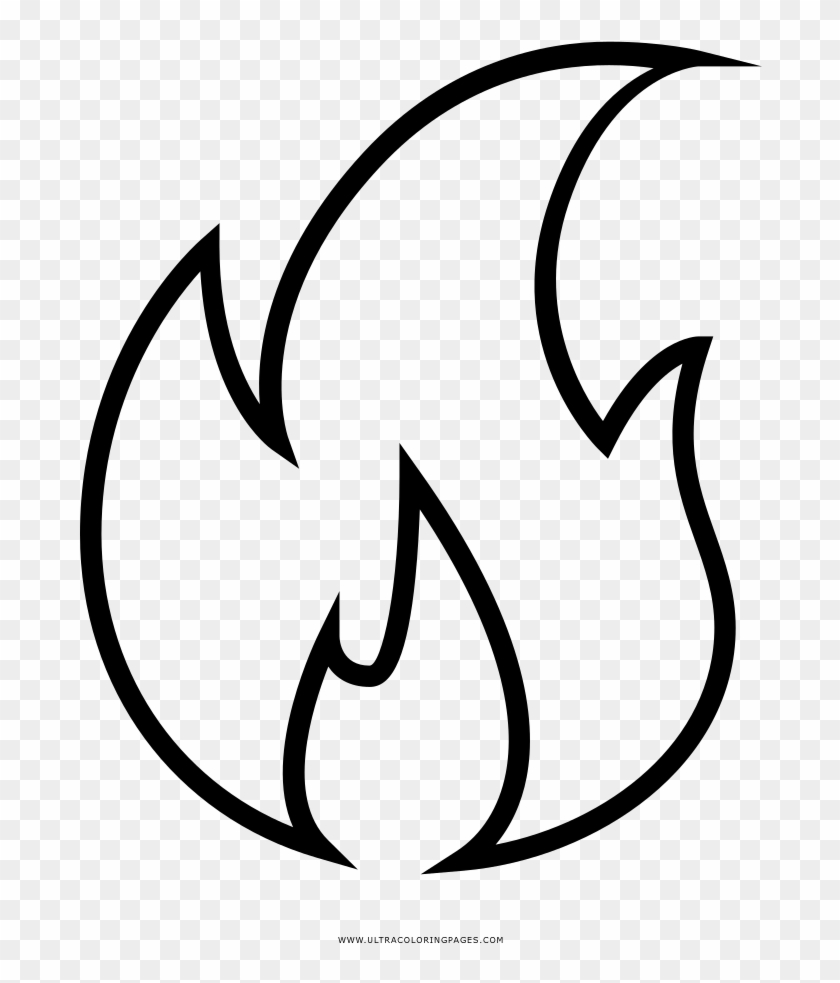 Flames black. And white flame transprent
