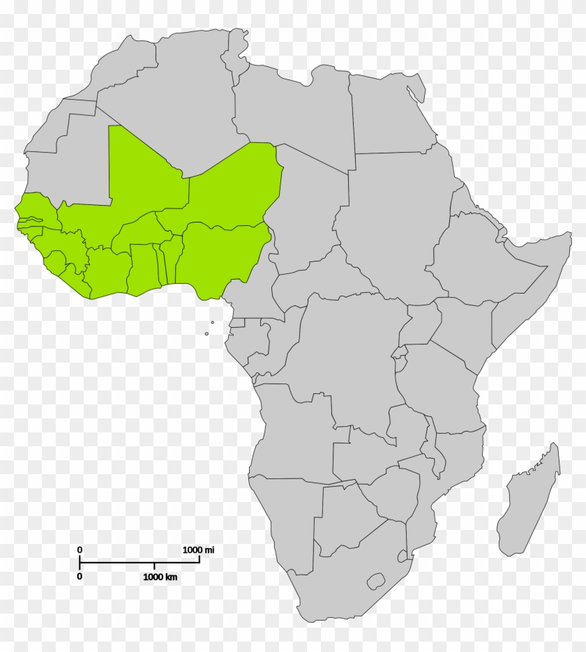 Nigeria Trade Barrier Reduction - Algeria On Africa Map, HD Png ...