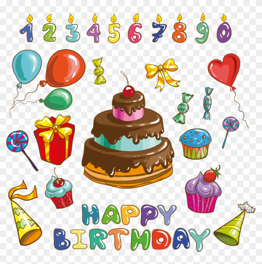 Happy Birthday Logo Birthday Wishes Image Clipart Happy Birthday Cake Cartoon Hd Png Download 1000x961 4529537 Pngfind
