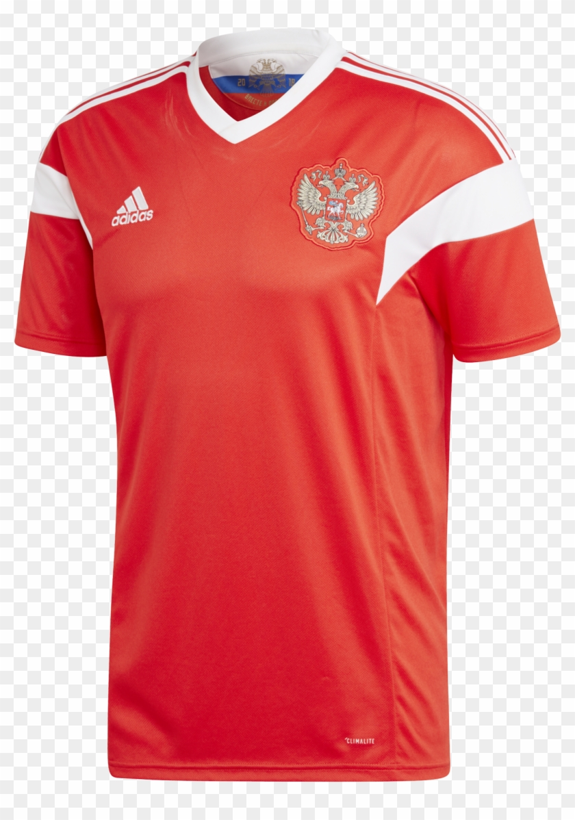 outlet store 7594c 61ae2 Russia World Cup 2018 Home Jersey - Tercera Equipacion Real ...