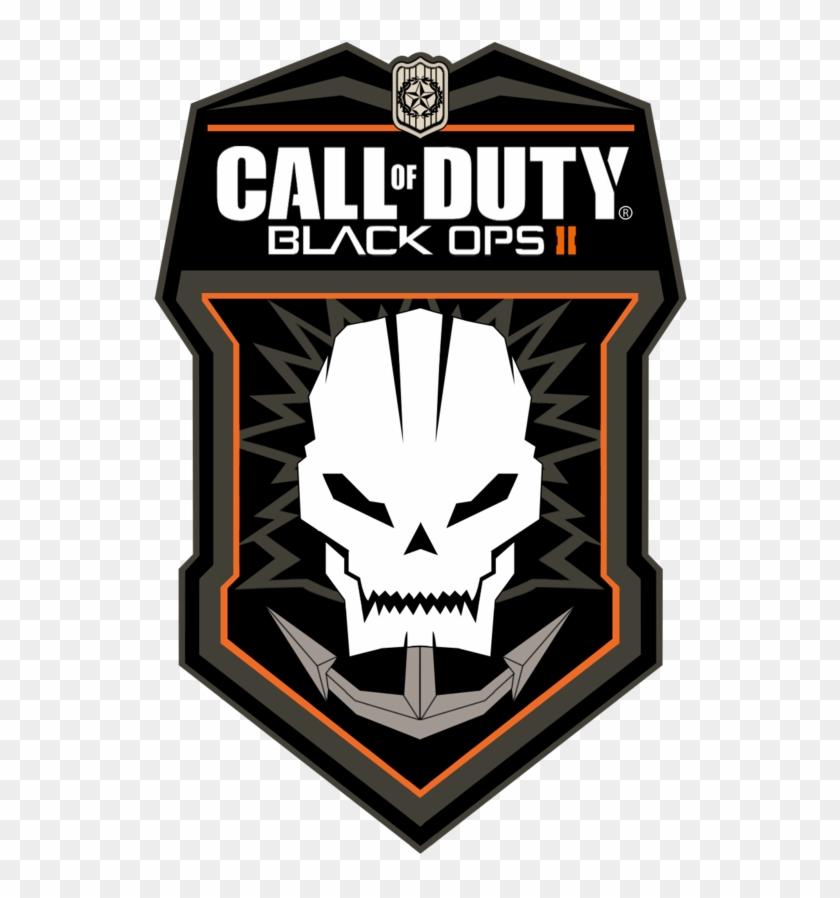 Call Of Duty Black Ops 2 Logo Renderofficial Black Black Ops 2 Skull Logo Hd Png Download 534x818 461942 Pngfind