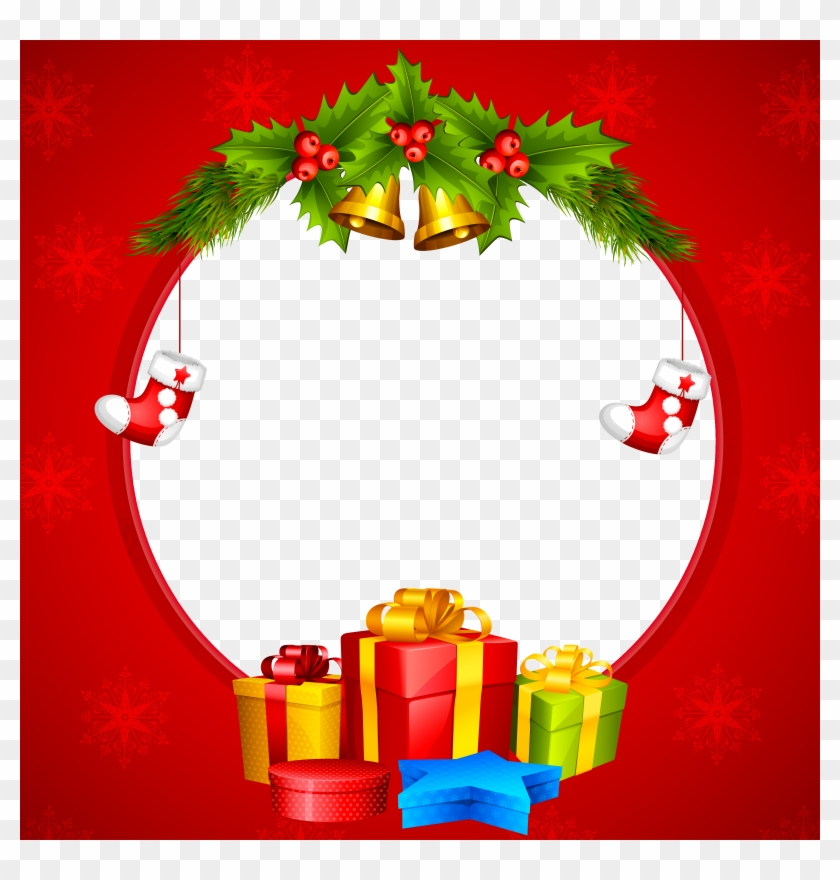 Free Christmas Clipart Borders Christmas Transparent Christmas Transparent Border And Frame Hd Png Download 600x600 466811 Pngfind