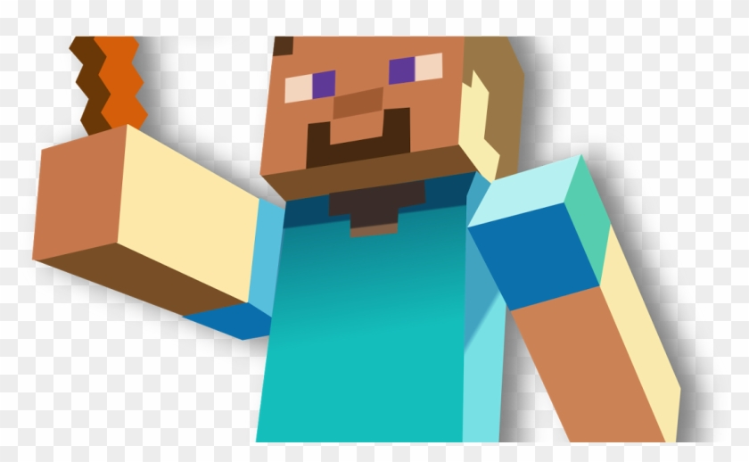 Minecraft Steve With Pickaxe Hd Png Download 1200x630 467530