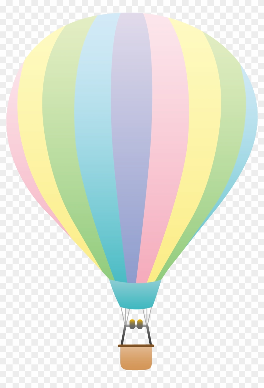 image about Printable Hot Air Balloon identify Incredibly hot Air Balloon Flight Paper Clip Artwork - Sizzling Air Balloons