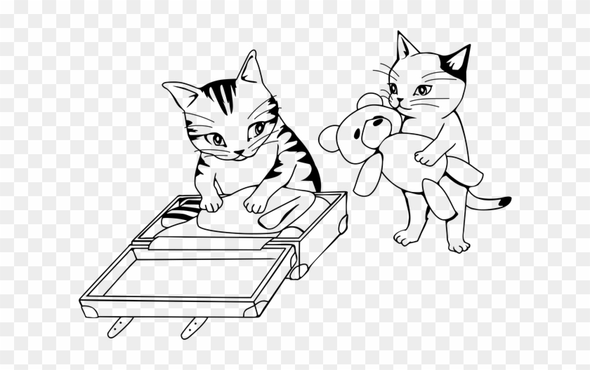 Simple Nyan Cat Coloring Pages Printable | 528x840