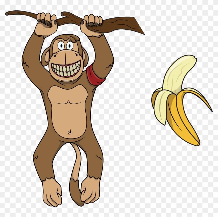 Gorilla Common Chimpanzee Illustration Transprent Png