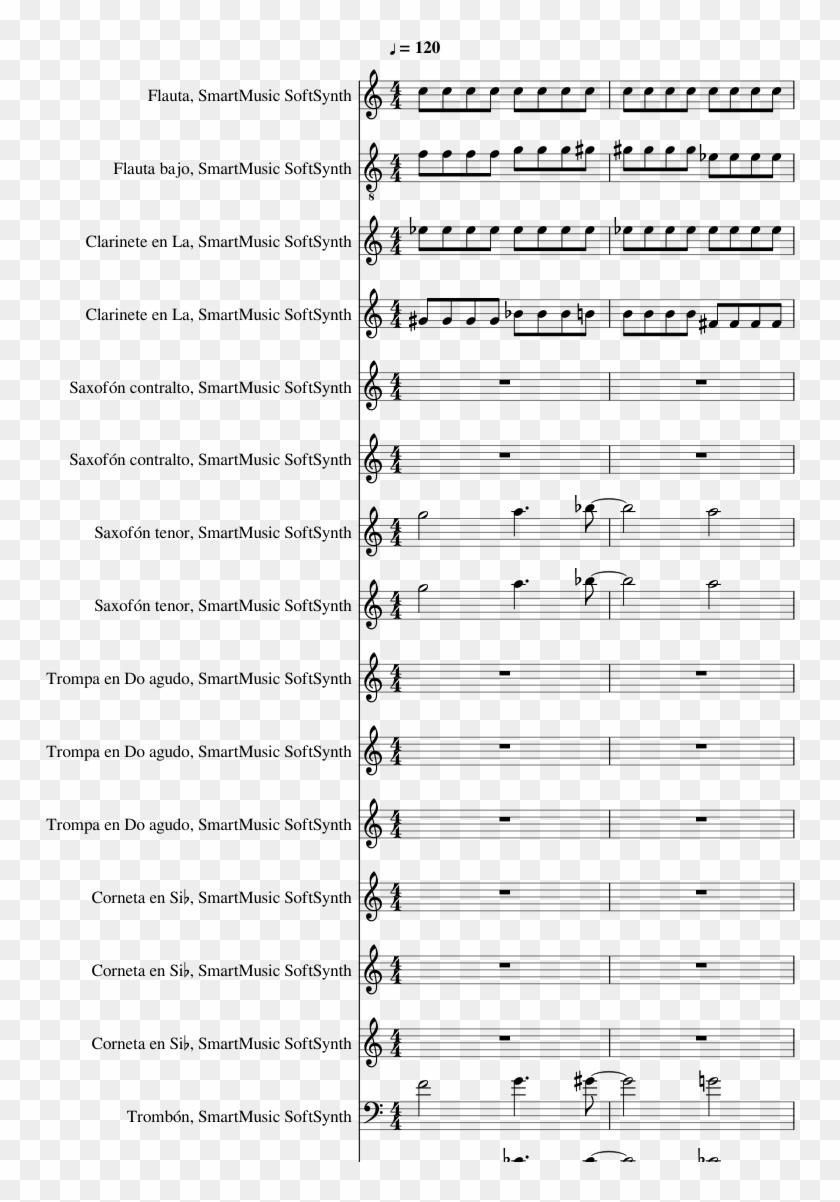 Avicii Silhouettes Piano Sheet , Png Download - Lagu Anak