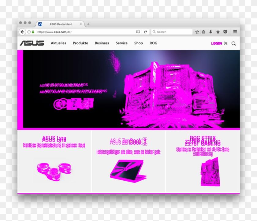 Visual Diff Of Asus - Asus, HD Png Download - 1088x884
